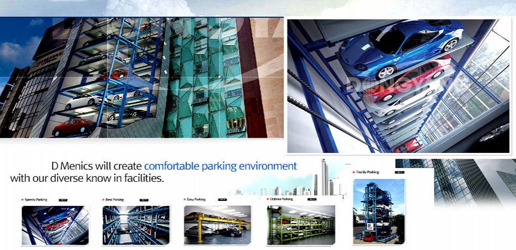 Quality and value of parking facilities