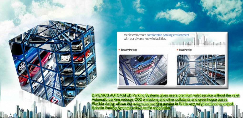 D Menics will lead quality and value of parking facilities